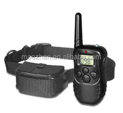 Electronic No Bark Dog Training Collar, No Harm Warning Beep and Vibration, an Pet Training Device