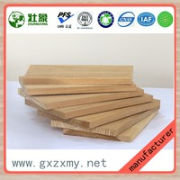 Poplar Veneer Timber Strips Core Blockboard From China Manufacturer