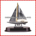 Hot sale resin handmade boat ship Wholesale Trophy