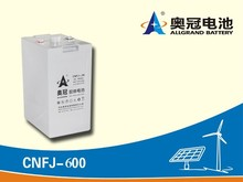 2V 600Ah Rechargeable Free-maintained GEL Lead Acid Battery for Solar Power Storage or UPS/Standby Power Supply