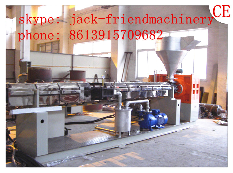 waste plastic pellet making machine