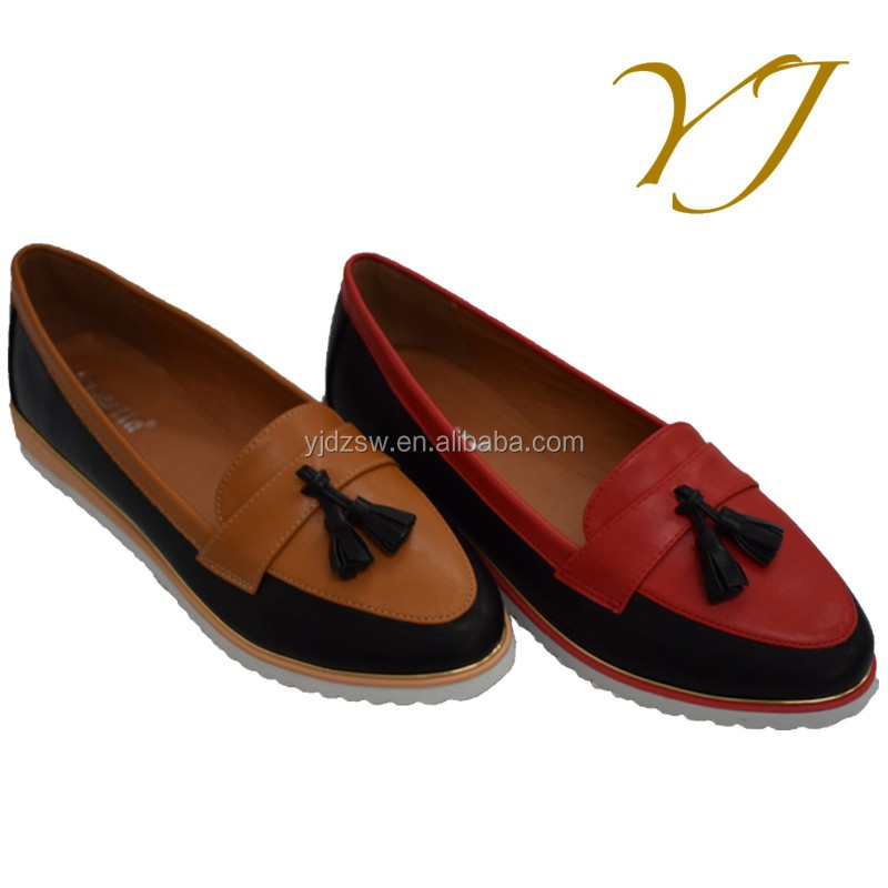 Original Casual Ladies Flat Loafer Shoes Factory Best Quality Shoes Women On Sale Popular Shoes