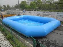 0.9 mm pvc tarpaulin inflatable pool, large inflatable swimming pool