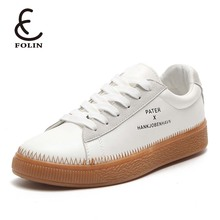 new fashion ladies shoes flat microfiber PU leather flossy shoes