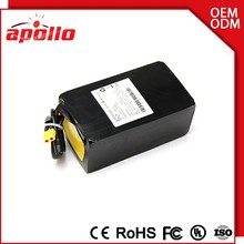 Rechargeable 10S10P 36v 30ah battery lifepo4 with switch