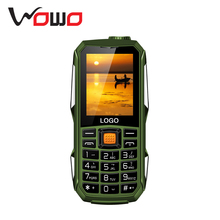 "New Wholesale OEM 2.4"" Screen Cheap Phone F7000 Rugged Waterproof Feature Mobile Phones With Big Battery Power Bank Loud Sound"