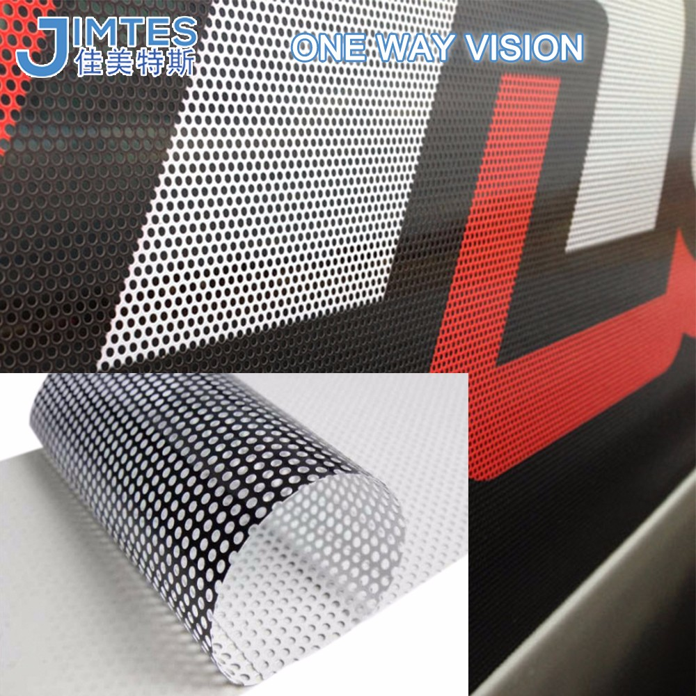 One Way Vision window Film & Self Adhesive Film covering window or Vehicle