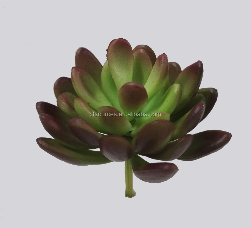 Realistic Artificial Succulent Plant For Home Garden Decoration
