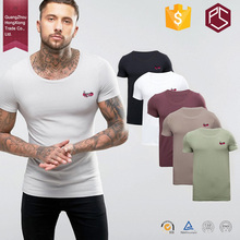 HongXiong Professional OEM High Quality Round Neck Short Sleeve 100% Cotton Softtextile Different Type Of T Shirts