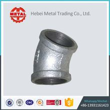 hot dip galvanized long sweep bends elbow malleable iron pipe fittings