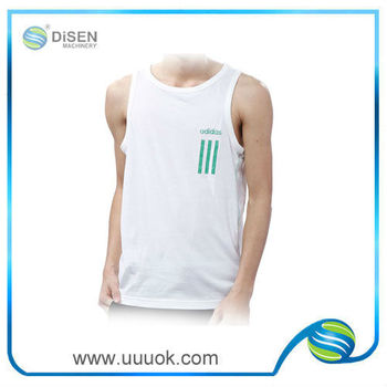 Custom screen print tank tops