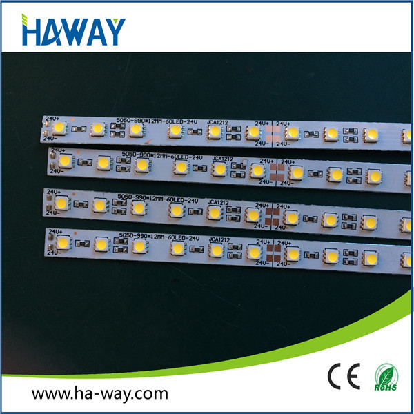 flat shape smd3013 led rigid strip light 1.64f DC12V CE & RoHs