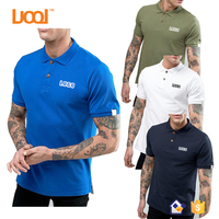 Oem LuoQi Mens 100 Cotton Custom Design Golf Polo Shirt