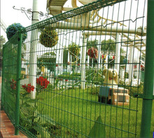 Garden fence panels Double ring fence Electric fence netting