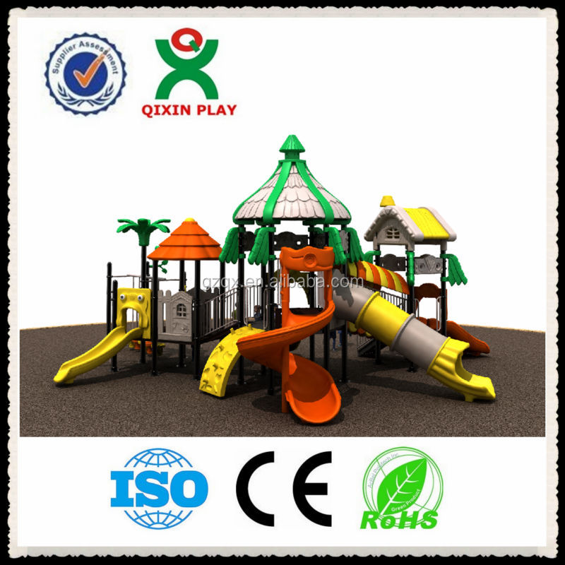 Transitional Kindergarten school outdoor play area equipment, outdoor play equipment for toddlers QX-016B