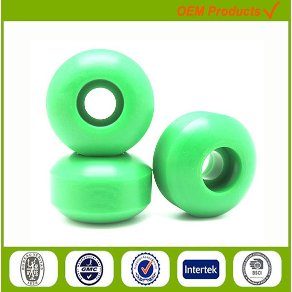 50-60mm plastic cruiser skate board wheels