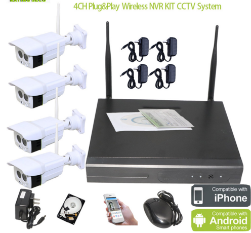 SS0105 long range wireless home security surveillance alarm cctv camera systems