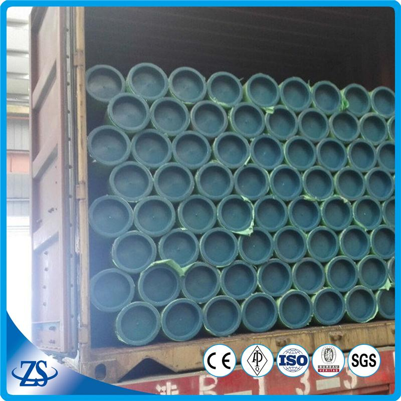 ss316 round mild steel pipe with pe coating