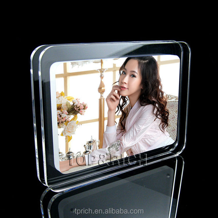 2017 hot new products high quality acrylic photo frame