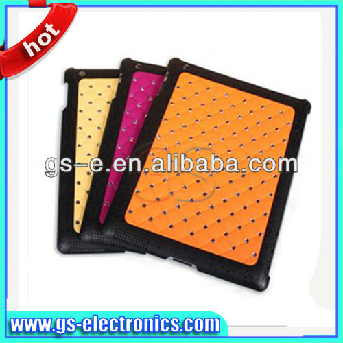 2013 Fashion Chrome Electroplating Bling Star Diamond Hard Cover Case for Apple iPad Mini