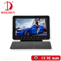 latest design car 9 inch cheap portable headrest dvd player with cover