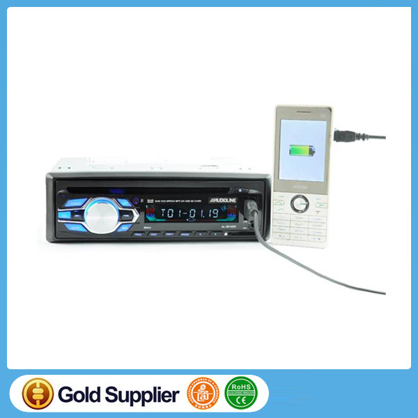 Universal one din single 1 Din Car DVD Player CD USB SD FM Auxin auto radio MP3 stereo audio charging