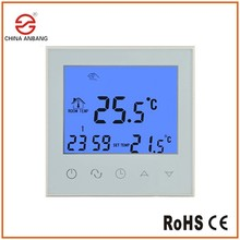 AB03H Modbus 7days Programmable Touch Screen Water Floor Heating Room Thermostat