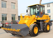 ZLY925 front end loader with pallet forklift and snow blade