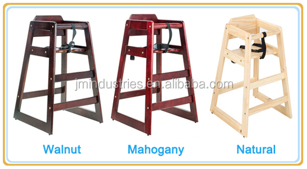 New Style Restaurant Dining Chairs Kid Baby High Chair