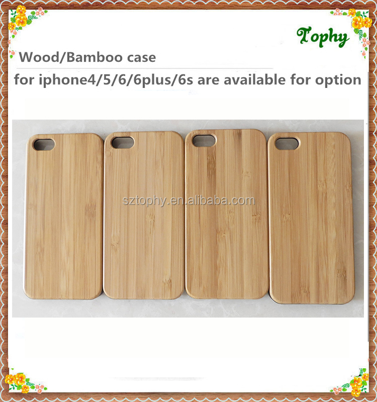 New Style Bamboo Traditional sculpture Wood Hard Back Wooden Case Cover phone Case for iphone 5s 6s plus