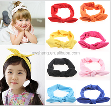 Wholesale New European rabbit ears headband hair accessories bow hair band hair bands Parent-child models headband