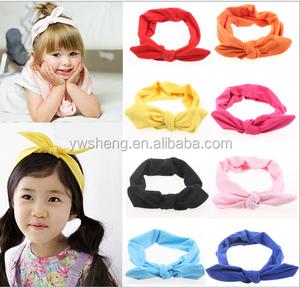 Wholesale New European rabbit ears headband hair accessories bow hair band hair bands Parent-child models headband