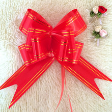 Cheap Plastic Butterfly Pull Bows Gift Pull Bow Ribbon For Decorate