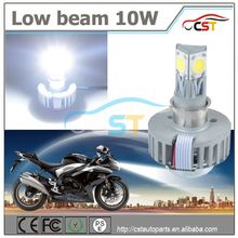 Hottest sale Hi/Lo beam 15W 1650LM led headlights dirt bike motorcycle universal vision headlight