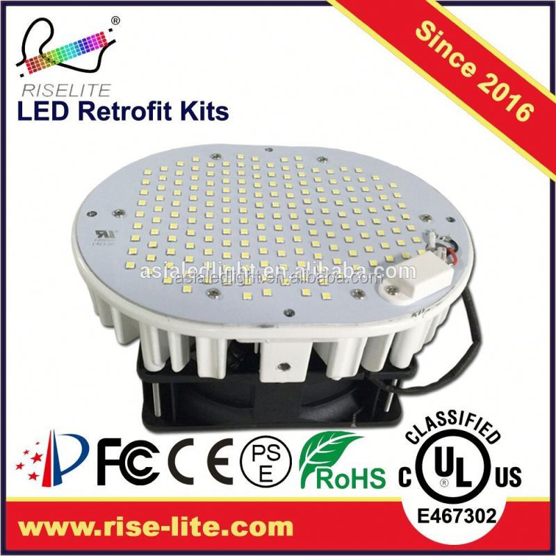 Top LED/Mean Well driver/Sunon Fan LED retrofit kit e27 e40 led module for street light led module 45W 5200LM