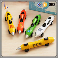 Cheap Promotional Gifts Custom Company Logo Advertising Plastic Car Shape Ball Pen