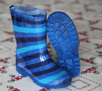 Kids PVC Jelly Transparent Rain Boots Made In China