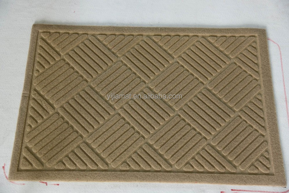 PVC Plastic Universal Waterproof Foot Carpet and mat