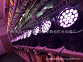 LED Stage lgiht 19pcs 12w RGBW 4in1 zoom led moving head