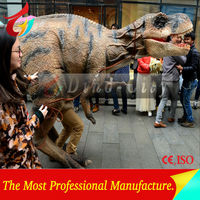 Customized Walking With Robotic Dinosaur Costume