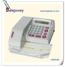 Electronic Check Writer.