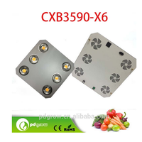 Chinese golden supplier CXB3590 3500k cob full spectrum high lumen 600w led grow light good for medical plants