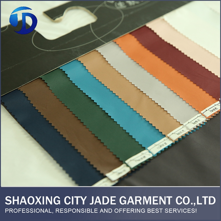 Woven Fabric Laminated Pantone Color Chart Fabric
