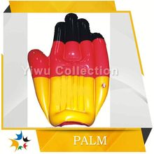 factory sell durable 2014fashionable inflatable hand model inflatable products