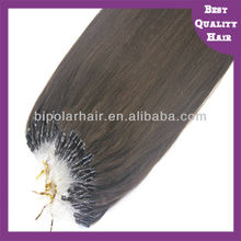 5a top quality double drawn European hair micro loop hair extension in stock