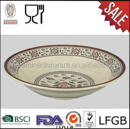 Lucky and Auspicious Cloud,New Design Melamine Dinner Bowl
