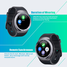Hot sale CE ROHS smart watch manual oem Y1 bluetooth smart watch with whatsapp twitter facebook