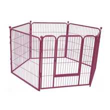 Heated iron dog kennel wholesale designer dog kennels MHD010-B