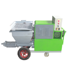 Guangzhou Factory construction machinery wall cement plaster mortar spraying machine with pare parts