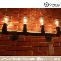 China import export wall lamps E27 iron vintage sconce led vanity light fixtures